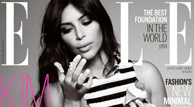 Kim Kardashian yine kapak oldu