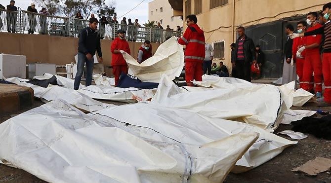 Rakka'ya bomba yağdı: 87 ölü