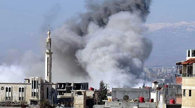 ABD koalisyon güçleri Suriye'de ilkokulu bombaladı
