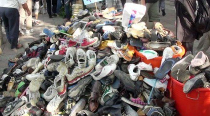 Zehirli ayakkabılar piyasada!