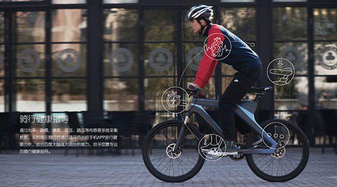 Baidu akıllı bisikletini tanıttı