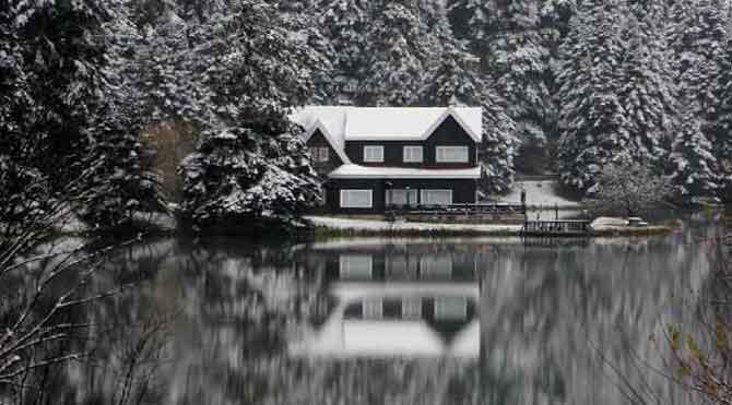Abant ve Kartalkaya kar altında