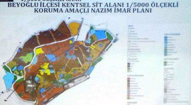 Gezi Parkı ve Taksim Meydanı imar planında yok