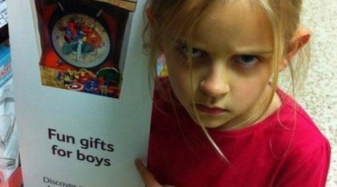 7 yaşındaki kızın seksizme karşı savaşı
