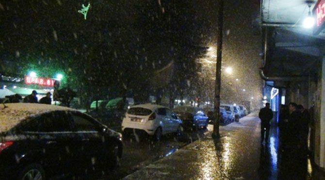 Bitlis'te beklenen kar yağışı!