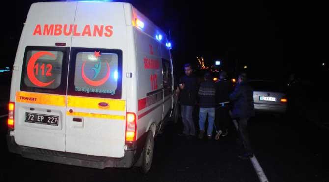 Polis otosu takla attı: 1 polis yaralı