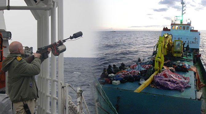235 kaçak göçmen böyle kurtarıldı