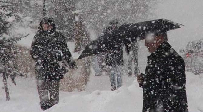 Şırnak ve Siirt'te kar yağışı