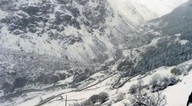 7 kişi iki gündür dağda mahsur