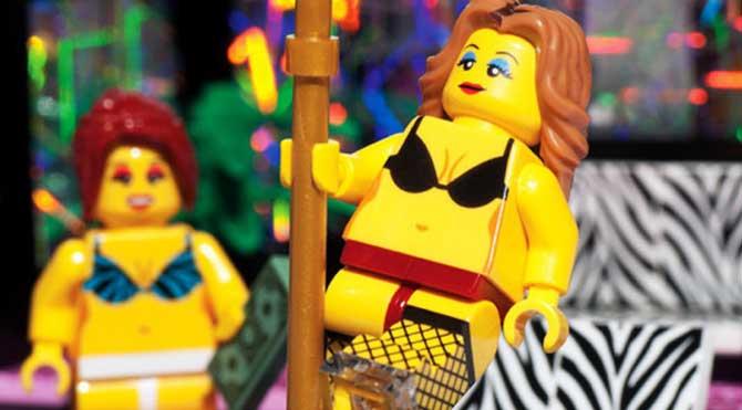 Burası lego striptiz kulübü
