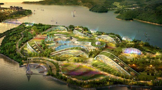 Dünyanın en büyük eğlence parkı yapılıyor