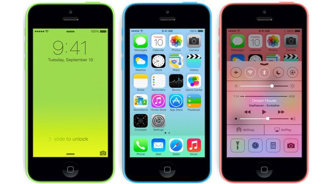 iPhone 5C'de indirime gidiliyor!