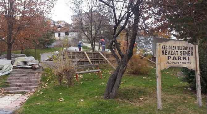 AKP'li Belediye çocuk parkı yıktı