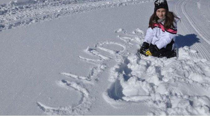 Uludağ'da kar bereketi
