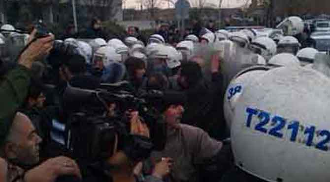 Ankara'da Dikmen Vadisi direnişi