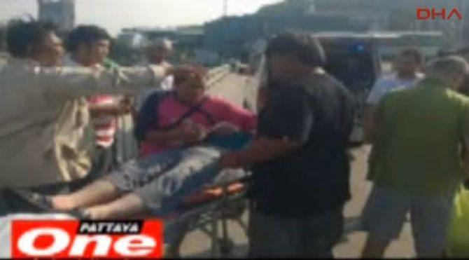 Teknedeki 8 Türk turist kurtarıldı