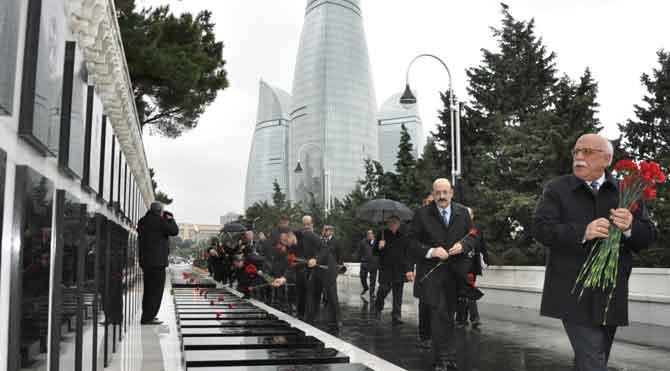 Nabi Avcı Azerbaycan'da