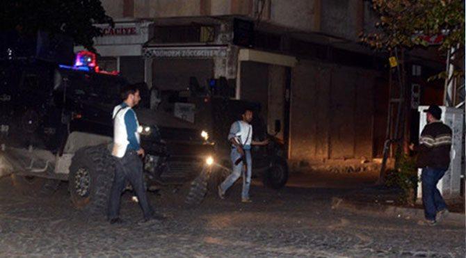 Diyarbakır'da çatışma: 1 yaralı!