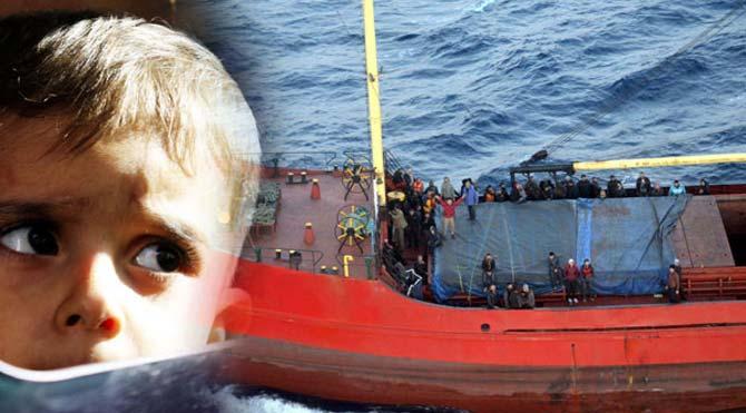Kaçak gemisine direniş iddiası