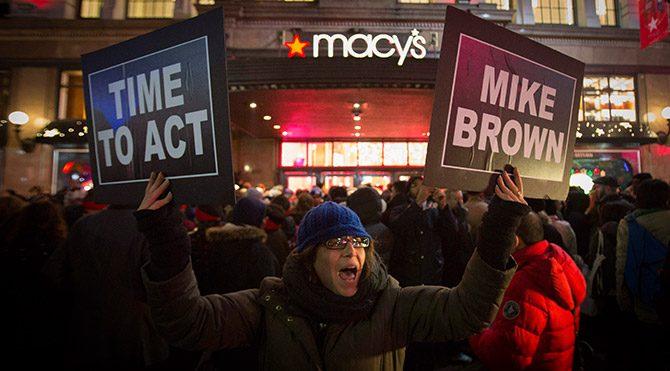 Kara Cuma'ya Ferguson boykotu
