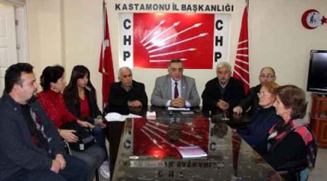 CHP Kastamonu'da istifa