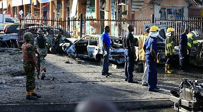 Nijerya'da camiye yerleştirilen bomba patladı
