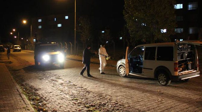 Bingöl Çevik Kuvvet şube müdürüne silahlı saldırı