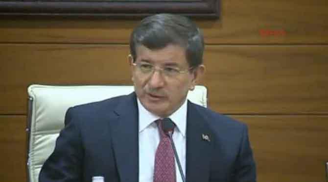 Davutoğlu Erzurum'a gitti