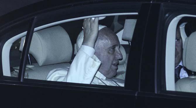 İstanbul'da Papa alarmı