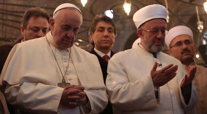 Papa Francesco İstanbul'da