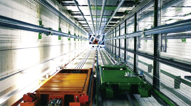 İlk yatay hareketli asansö: MULTI