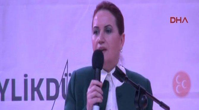 Meral Akşener Davutoğlu'na seslendi!