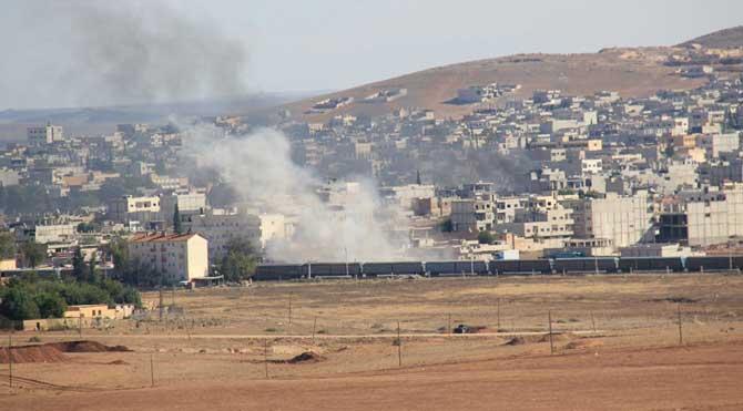 IŞİD Kobani'yi Türkiye'den mi vurdu?