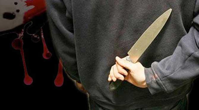 Chat yapan üvey kızını bıçakladı
