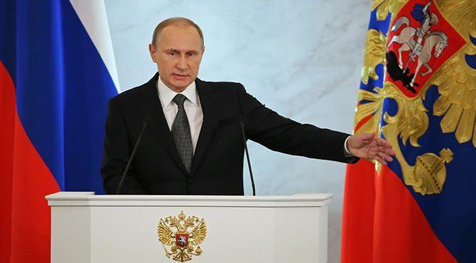 Putin: Rusya'ya demir perde örmeye çalışıyorlar