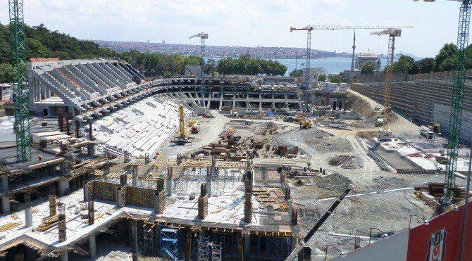 Vodafone Arena stadının çatı inşaatı başladı! Vodafone Arena ne zaman bitecek?