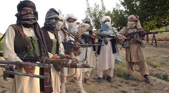 Taliban militanları: