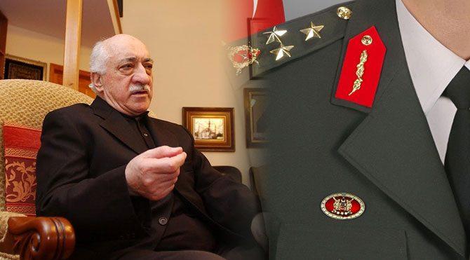 Gülen'le görüşen general tespit edildi