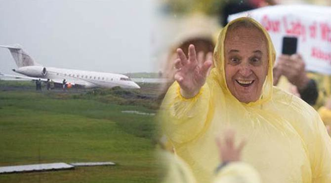 Papa ucuz kurtuldu