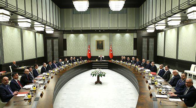 Erdoğan'ın Bakanlar Kurulu Rus basınında