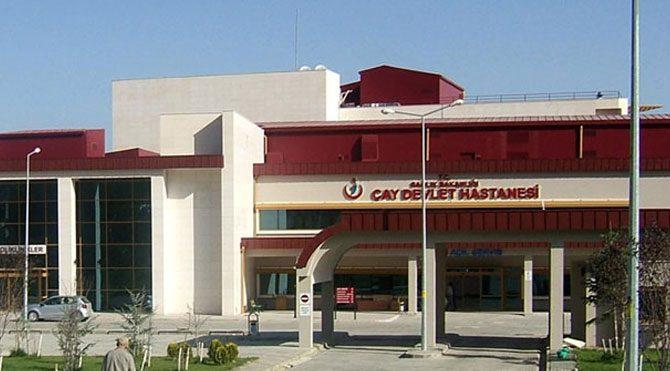 Çay Devlet Hastanesi'nde doktor kalmadı!