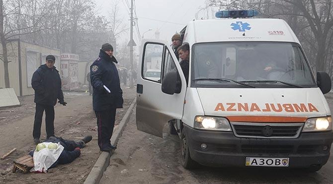 Ukrayna'nın Mariupol kentinde kanlı saldırı: 30 ölü