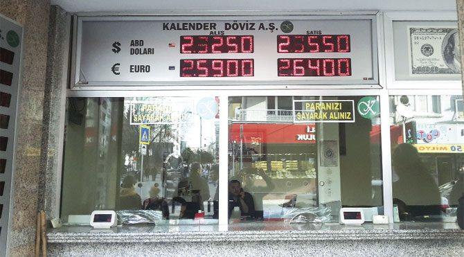 Komşuda seçim sonrasında  Euro/dolar 1.10'a çekilir