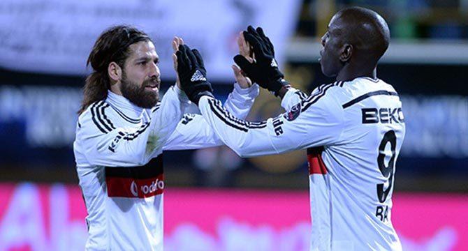 Beşiktaş Gençlerbirliği maçı geniş özeti, golleri (Gençlerbirliği 0 Beşiktaş 2)
