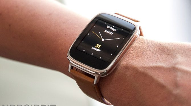 Asus zenwatch 3 user manual