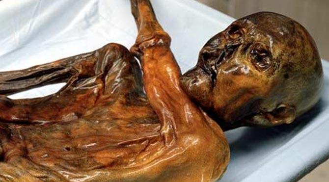 Buz adam Ötzi'nin sır dövmeleri