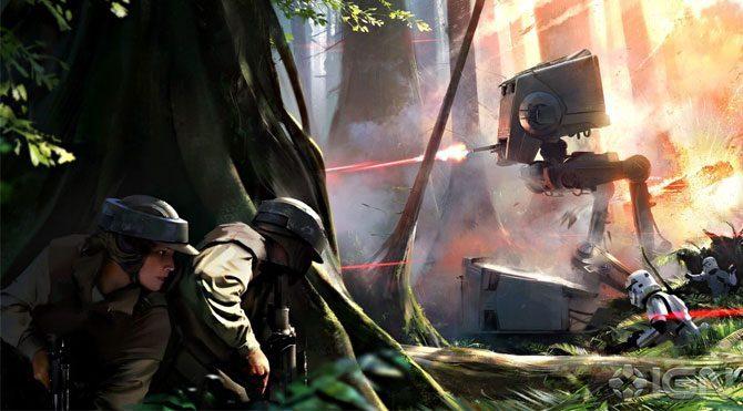 Star wars battlefront'tan oyunseverlerine sürpriz