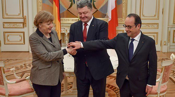 Ukrayna'da barış için diplomatik atak