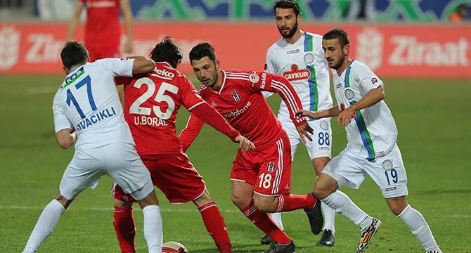Rizespor Beşiktaş maç özeti - Rizespor Beşiktaş maçın önemli anları
