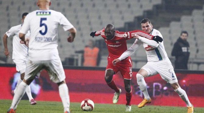 Çaykur Rizespor Beşiktaş maç özeti Çaykur Rize 1- BJK 2 maçı golleri